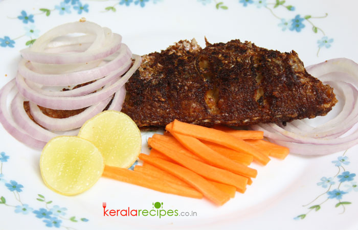 Kerala fish fry tasty circle for Side dishes for fried fish