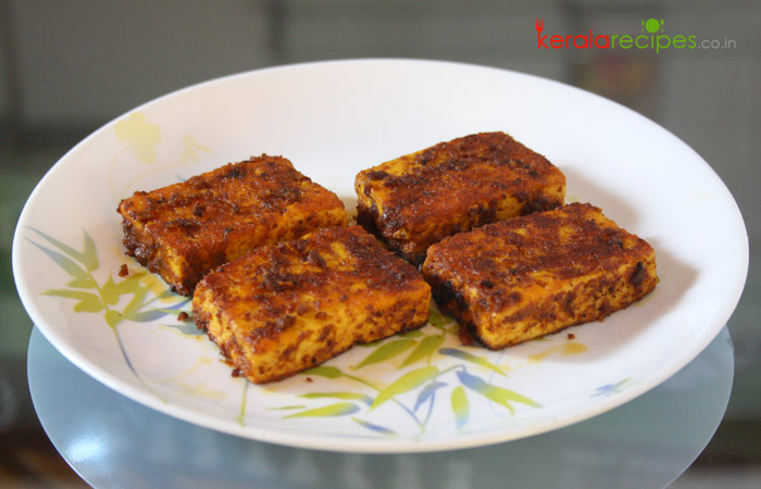 Pan Fried Paneer Tikka
