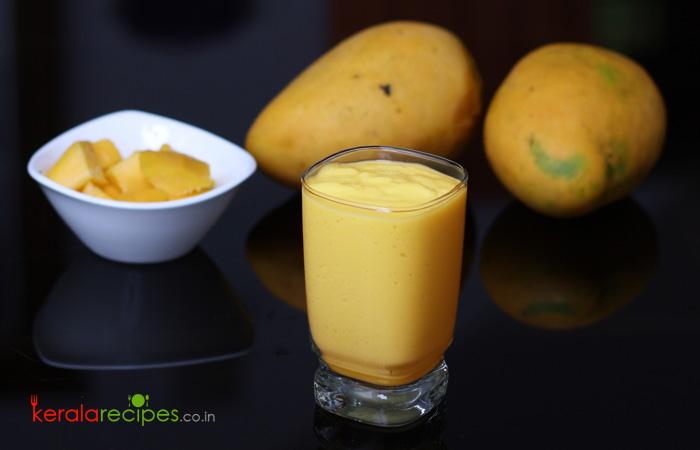 Mango Milkshake (Mango Shake)