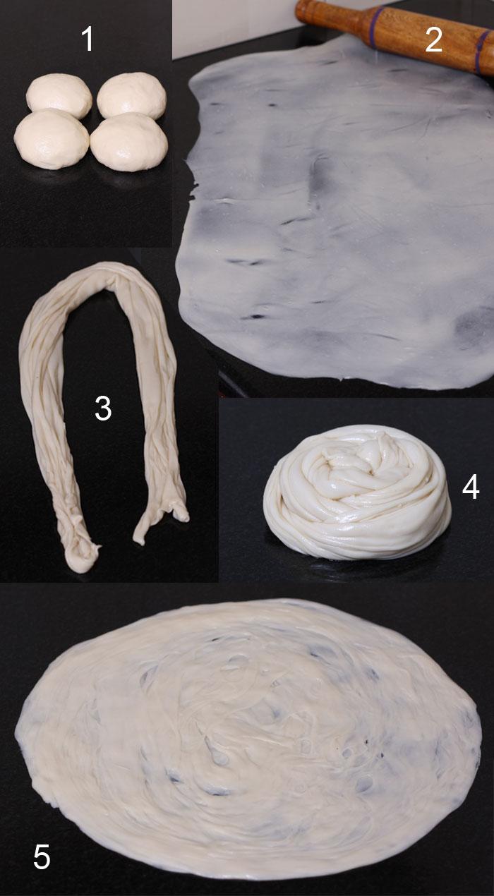 Parotta / Paratha / Porotta