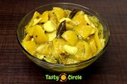 White Lime / Lemon Pickle (Velutha Naranga Achar)